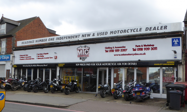 Motorcycle Sales, Repairs, Spares And Accessories Business For Sale. Reading, Berkshire.