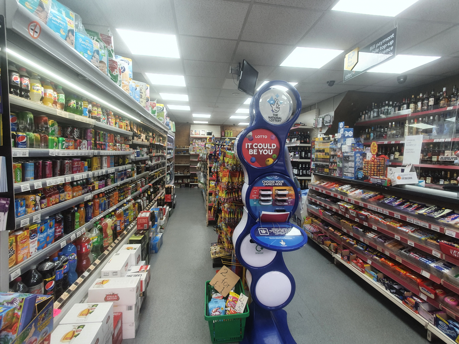 Well-Established Newsagent & Off Licence in the Heart of Dunstable Shopping Area